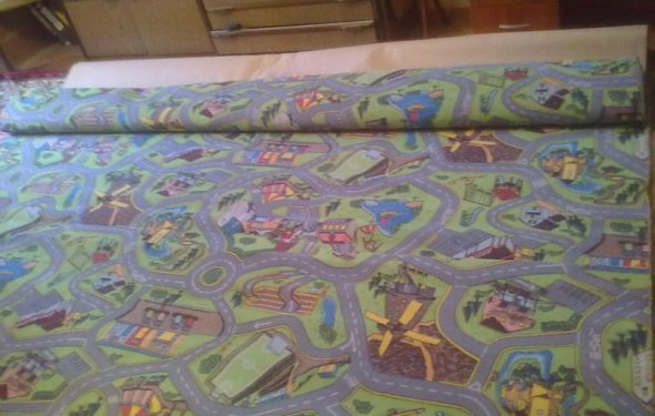 Дитяче килимове покриття