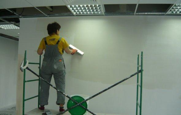 Окраска стен Покраска стен