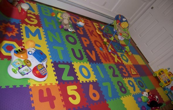Детский пол в комнате