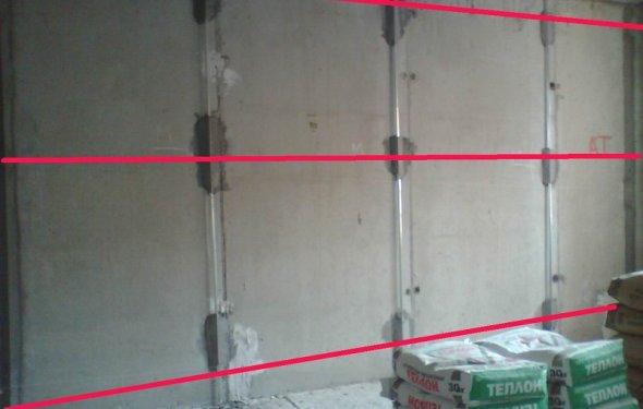 Вирівнювання стін необхідно