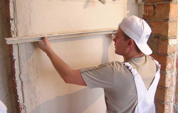 Оштукатуривание стен своими