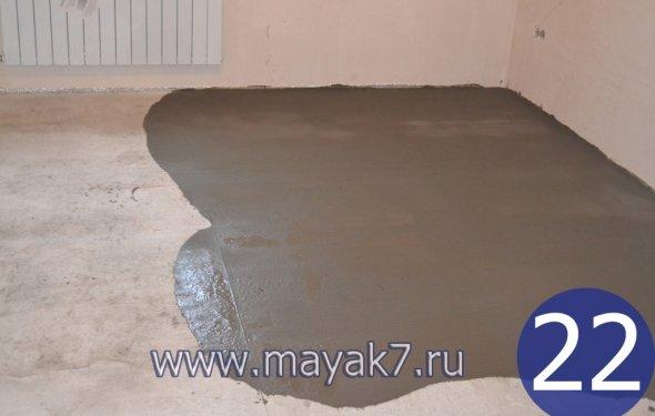 22-Фінішна стяжка підлоги