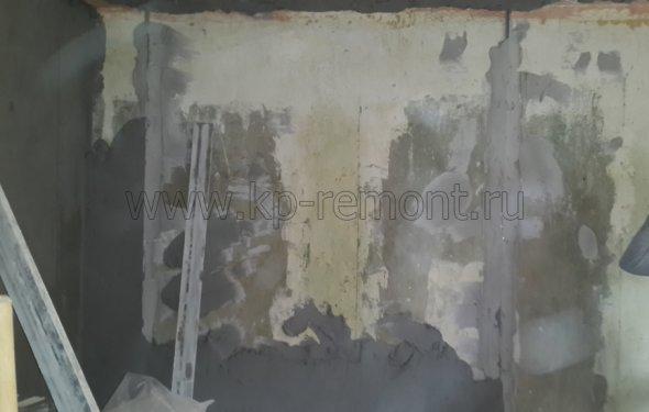 Выравнивание стен гипсовой