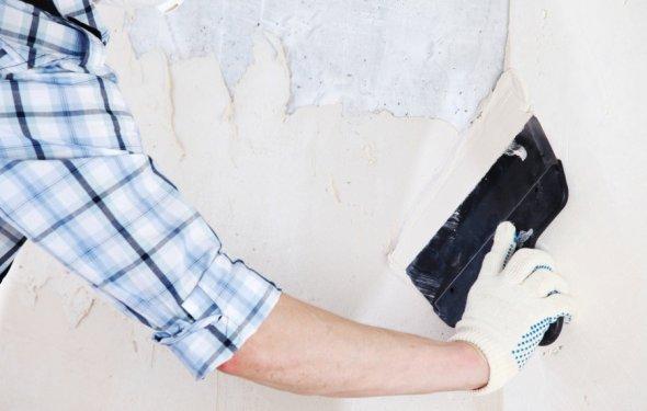 Вирівнювання стін під фарбування