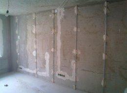 чим краще вирівняти стіни в квартирі