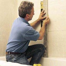 Як класти плитку на стіну - підготовка поверхні