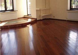 Як покласти ламінат на дерев'яну підлогу