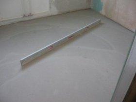 Нівелює суміш для вирівнювання бетонної підлоги