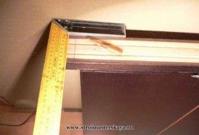 обрізаємо стійку коробки (фото)