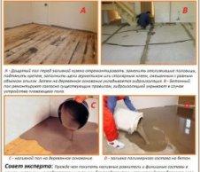 Підготовка підстави до пристрою наливної підлоги