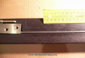 Розмітка петель на коробці (фото)