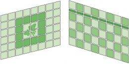 Варіанти укладання настінної плитки