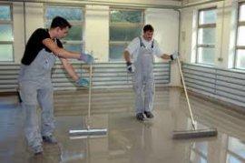 Вирівнювання наливної підлоги